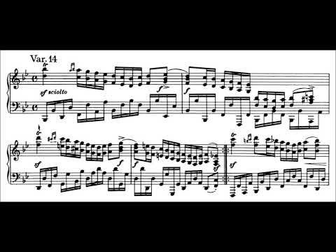 Brahms, Variations and Fugue on a Theme by Handel