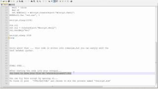 Computer prank most realistic fake virus using vbscript