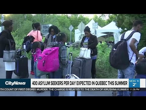 Asylum seekers expected to surge in Canada