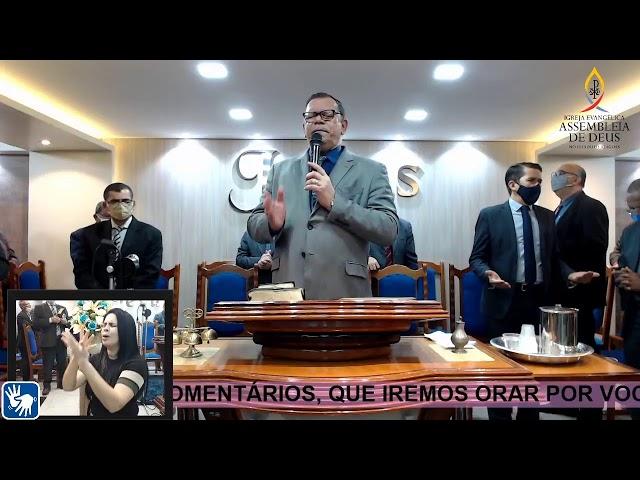 Culto de Doutrina - AD São Miguel dos Campos/AL | 04/09/2020. (Acessível em Libras)