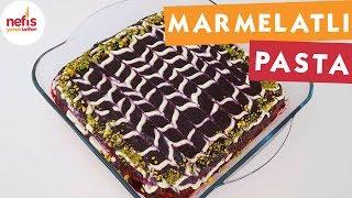 Marmelatlı Sütlü Pasta - Pasta Tarifleri - Nefis Yemek Tarifleri