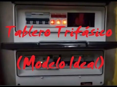 Descripcin de Tablero Trifsico Domiciliario Modelo  YouTube