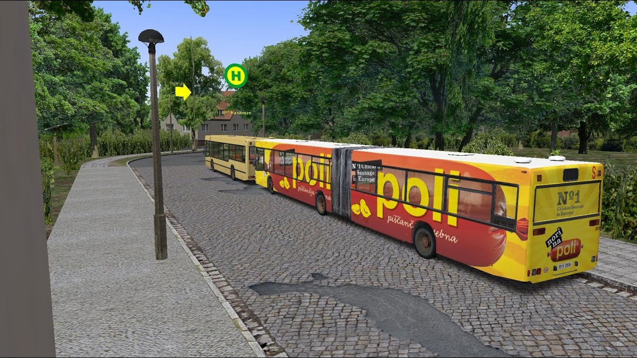 Omsi 2 Route 137 From Rathus Spandau To Falkensee Man N