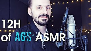 12h AGS ASMR. For sleep, relaxation and stress relief
