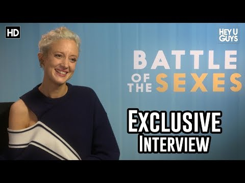 Andrea Riseborough  Battle of the Sexes Exclusive