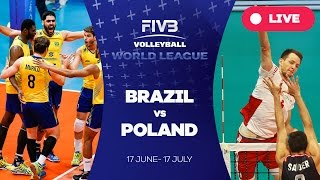 Download Video Brazil v Poland - Group 1: 2016 FIVB Volleyball World League MP3 3GP MP4