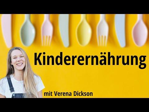 Gesunde Ernährung für Kinder (mit Verena Dickson) - Satte Sache | Ernährungsmedizin & Wissenschaft