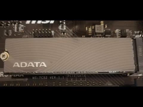 ADATA Swordfish 250GB M.2 2280 PCIe Gen3x4 3D NAND TLC (ASWORDFISH-250G-C)