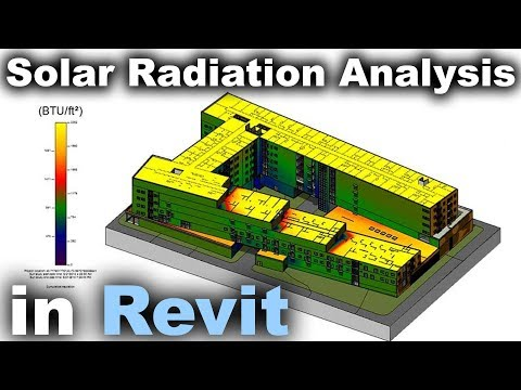 Solar Radiation Analysis in Revit Tutorial