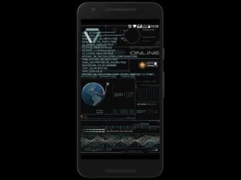 Hacking Launcher For Android - Linux Launcher Hindi | Urdu