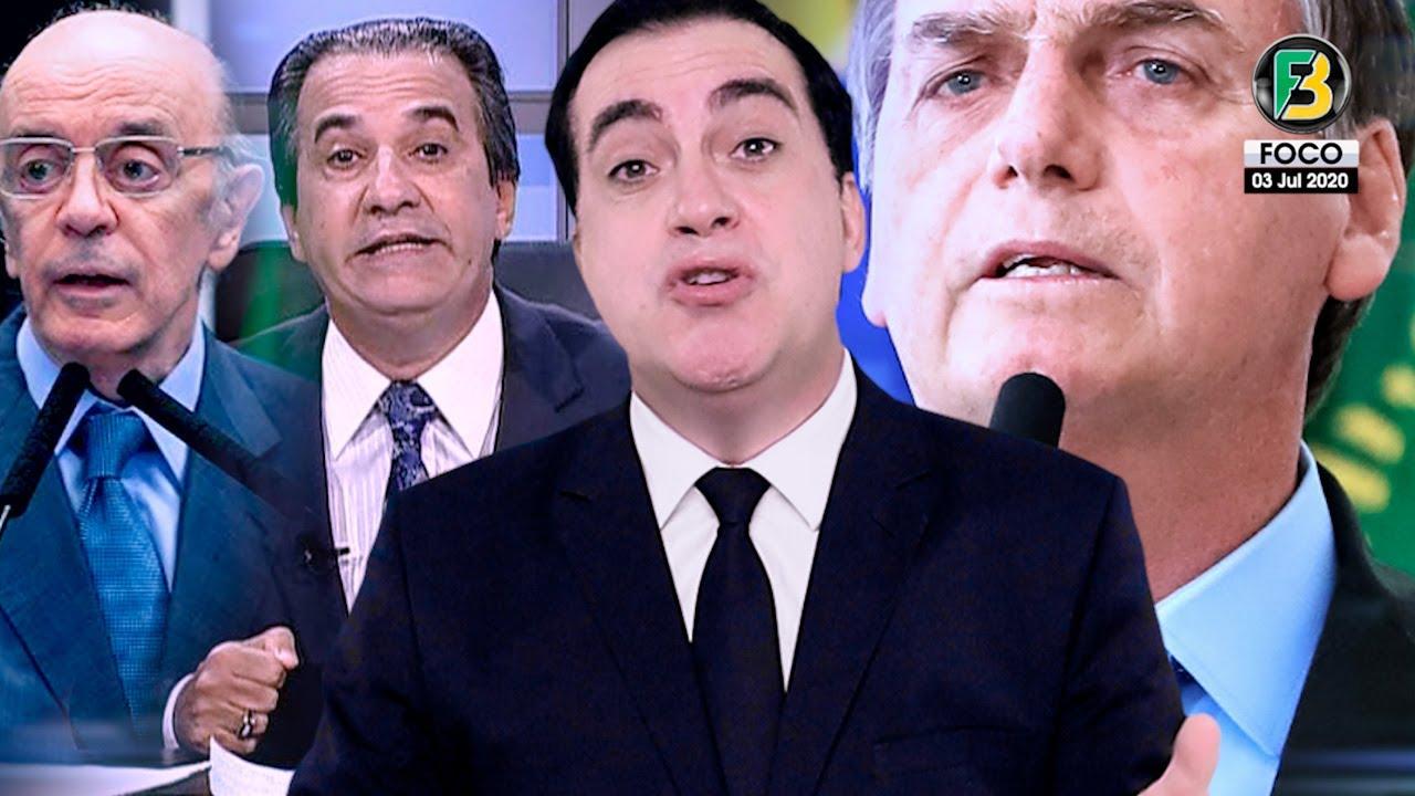 Bolsonaro provoca a Globo! Esposa de Doria causa REVOLTA! Laja Jato chega aos Tucanos! e muito mais!