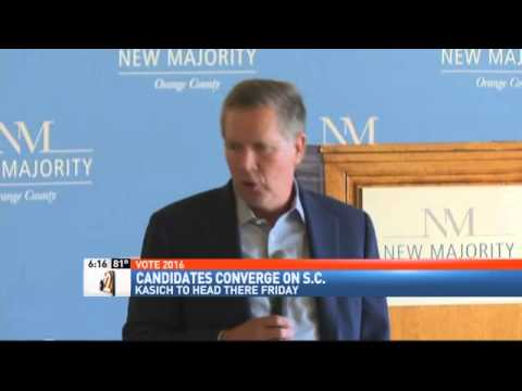 Kasich Presidential Campaign Returning to South Carolina