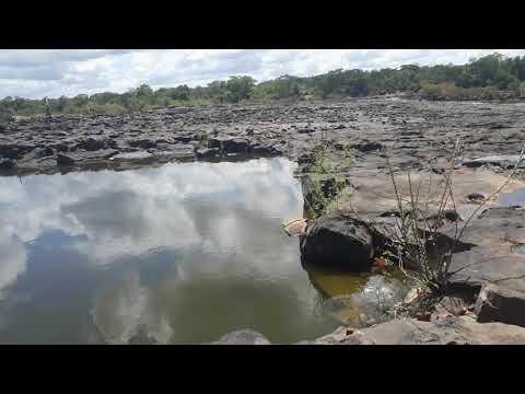 Veja como já ta nossa cachoeira do urubu Esperantina no Piauí