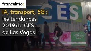 IA, transport, 5G : les tendances 2019 du CES de Las Vegas