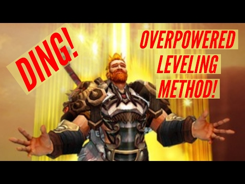 WoW Legion | OVERPOWERED LEVELING METHOD! - Use EVERY second of your expensive XP potions!