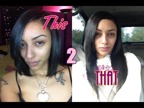 Easy clip in hair extensions tutorial short to long hair quick easy clip in hair extensions tutorial short to long hair quick pmusecretfo Choice Image