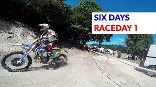 Six Days Brive, Frankreich: Team Dirtbiker Mag - Tag1