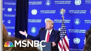 'The Room Was Mostly Silent': Reporter In Room For 'Spies' Remark | Morning Joe | MSNBC