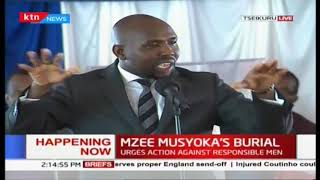 Kipchumba Murkomen: There is something good in you, your excellency Kalonzo Musyoka
