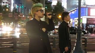 2017.10.7@なんば路上ライブ Debutproject所属 二人組ユニット カッペ ...