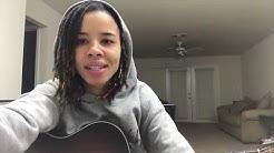 EASY R&B Soul Guitar Lesson (on Acoustic)