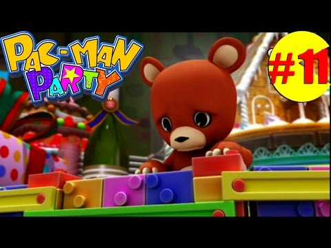 Let's Play Pac-Man Party: Celebration Ave.~(P11)[Gameplay/Multiplayer HD]