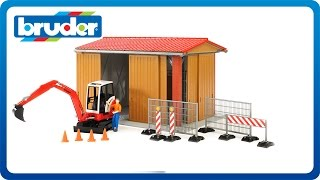 Bruder Toys bworld Construction Machine Hall #62020