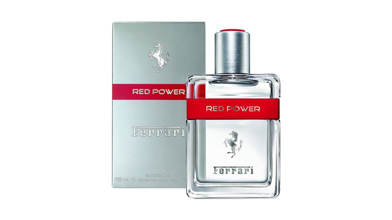 the fragrances in res small man ferrari magazine red edt high glass