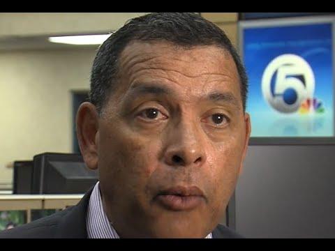 Urban League President Patrick Franklyn react to President
