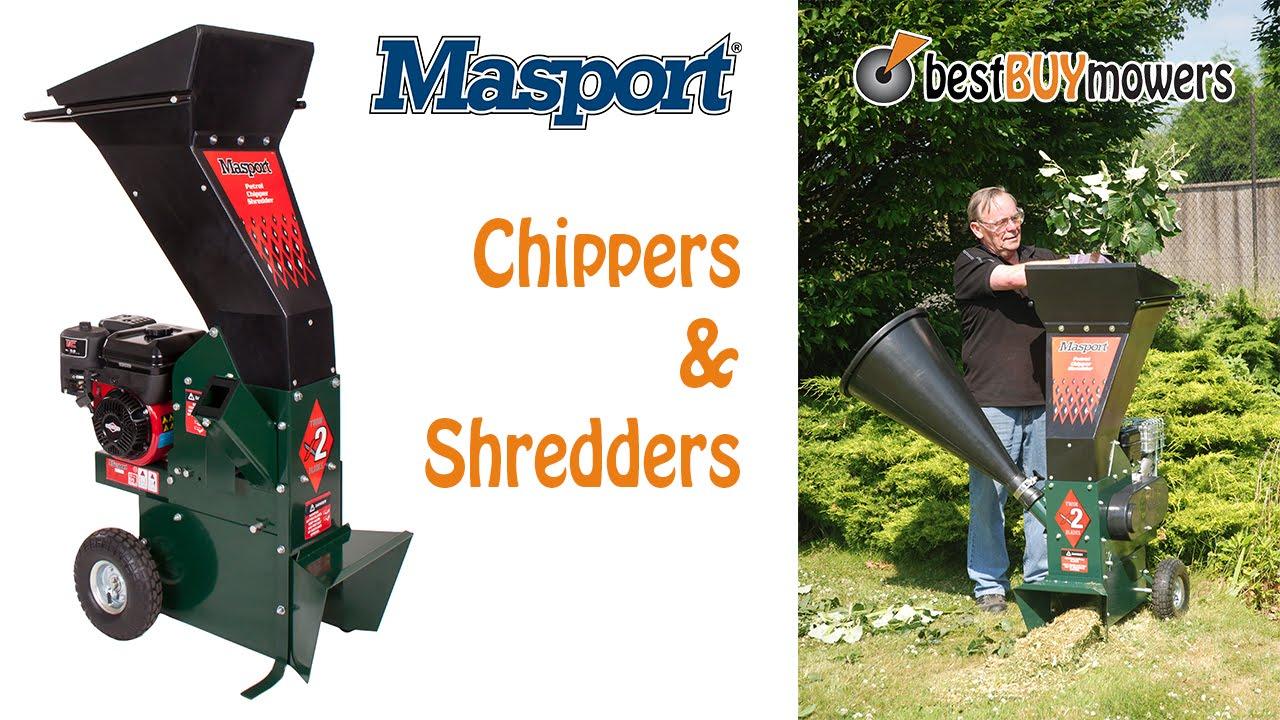 Best Buy Mowers presents...Masport Shredders - YouTube
