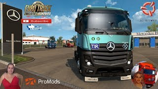 """Euro Truck Simulator 2 (1.37)   Mercedes Actros MP4 Reworked v2.2 [Schumi] [1.37] Kalmar Sweden DLC Scandinavia Promods v2.46 Motorcycle Traffic Pack by Jazzycat FMOD ON and Open Windows Naturalux Graphics and Weather Spring Graphics/Weather v3.5 (1.37) by Grimes Test Gameplay ITA + DLC's & Mods https://forum.scssoft.com/viewtopic.php?f=35&t=223953  SCS Software News Iberian Peninsula Spain and Portugal Map DLC Planner...2020 https://www.youtube.com/watch?v=NtKeP0c8W5s Euro Truck Simulator 2 Iveco S-Way 2020 https://www.youtube.com/watch?v=980Xdbz-cms&t=56s  #TruckAtHome #covid19italia Euro Truck Simulator 2    Road to the Black Sea (DLC)    Beyond the Baltic Sea (DLC)   Vive la France (DLC)    Scandinavia (DLC)    Bella Italia (DLC)   Special Transport (DLC)   Cargo Bundle (DLC)   Vive la France (DLC)    Bella Italia (DLC)    Baltic Sea (DLC)   American Truck Simulator New Mexico (DLC) Oregon (DLC) Washington (DLC) Utah (DLC)     I love you my friends Sexy truck driver test and gameplay ITA  Support me please thanks Support me economically at the mail vanelli.isabella@gmail.com  Roadhunter Trailers Heavy Cargo  http://roadhunter-z3d.de.tl/ SCS Software Merchandise E-Shop https://eshop.scssoft.com/  Euro Truck Simulator 2 http://store.steampowered.com/app/227... SCS software blog  http://blog.scssoft.com/  Specifiche hardware del mio PC: Intel I5 6600k 3,5ghz Dissipatore Cooler Master RR-TX3E  32GB DDR4 Memoria Kingston hyperX Fury MSI gtx 970 Twin Frozr Gaming 4gb ddr5 Asus Maximus VIII Ranger Gaming Cooler master Gx750 SanDisk SSD PLUS 240GB  HDD WD Blue 3.5"""" 64mb SATA III 1TB Corsair Mid Tower Atx Carbide Spec-03 Xbox 360 Controller Windows 10 pro 64bit"""
