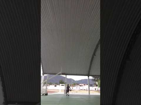 Outdoor court in Mexico