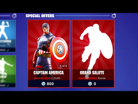Captain America Is NOW AVAILABLE!