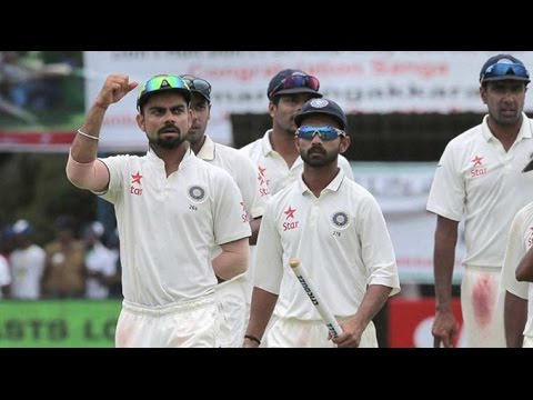Indian cricket team moves up to the top in ICC test rankings