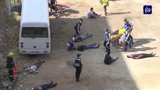 تمرين لحادث وهمي في مستشفى الأميرة بسمة - (13-10-2018)
