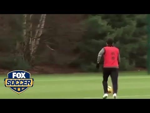 Cesc Fabregas trolls teammate Thibaut Courtois | @TheBuzzer | FOX SOCCER