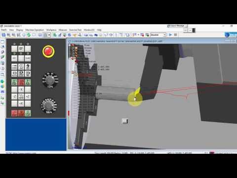 SSCNC (SWANSOFT CNC) 3D SIMULATION SOFTWARE FOR COMPUTER NUMERICAL CONTROL  (CNC) PART PROGRAMMING