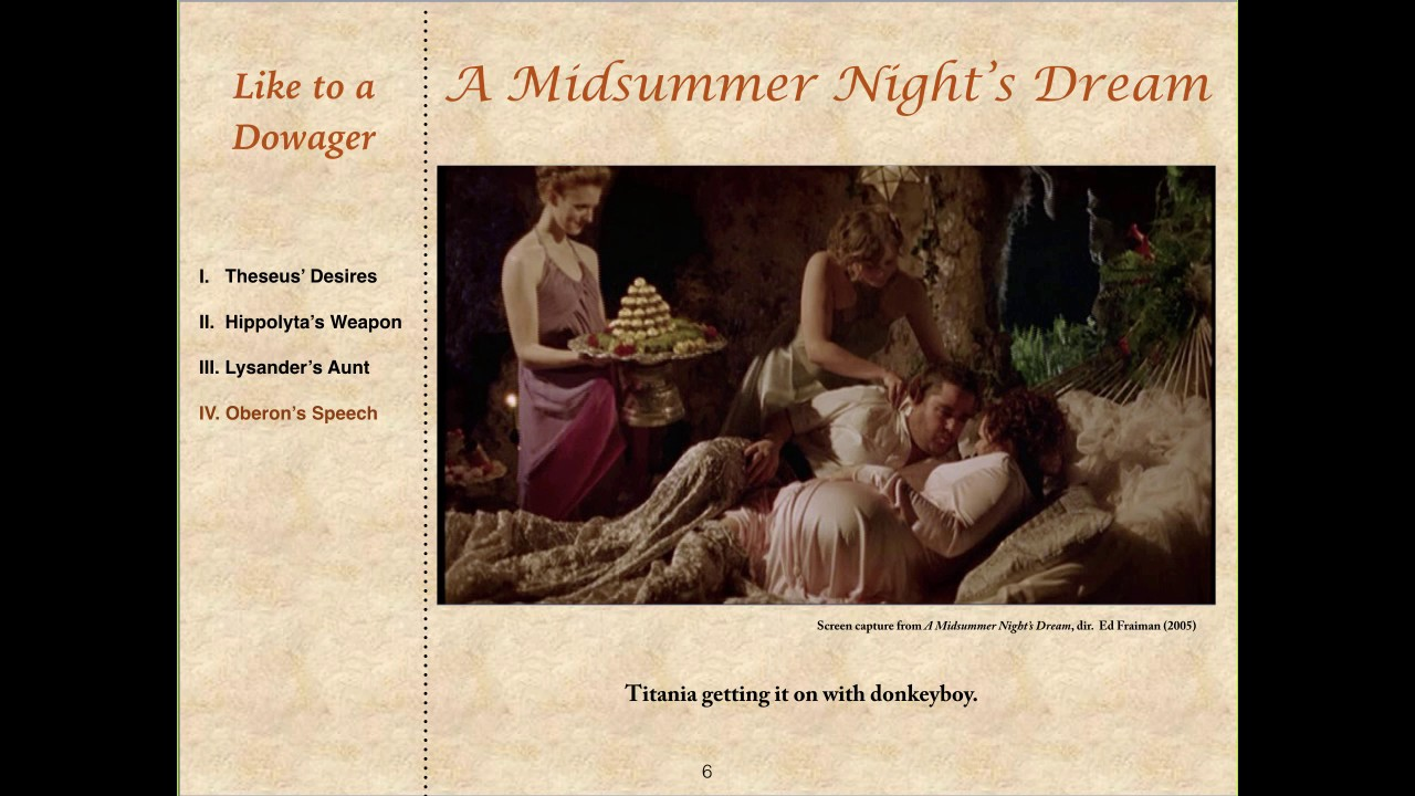 theseus and oberon essay Compare and contrast the male characters in the play: lysander, demetrius, oberon and theseus what parallels are there between pyramus and thisby and a midsummer night's dream  how are love and being in love portrayed in the play.