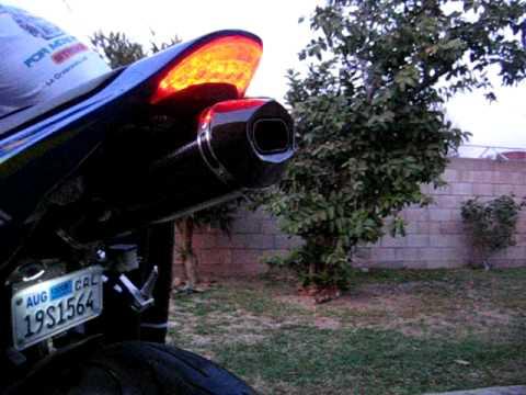 2005 Cbr600rr Akrapovic Exhaust