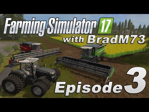 Farming Simulator 17 - Let's Play! - Episode 3 - Off to a good start!