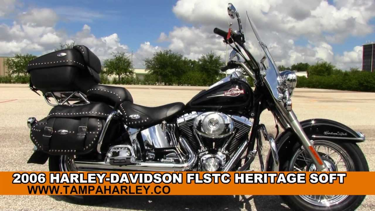 Used 2006 Harley Davidson FLSTC Heritage Softail Classic HD for sale ...