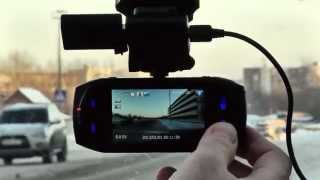 Тест обзор видеорегистратора Harper Pro View 7751GPS смотреть