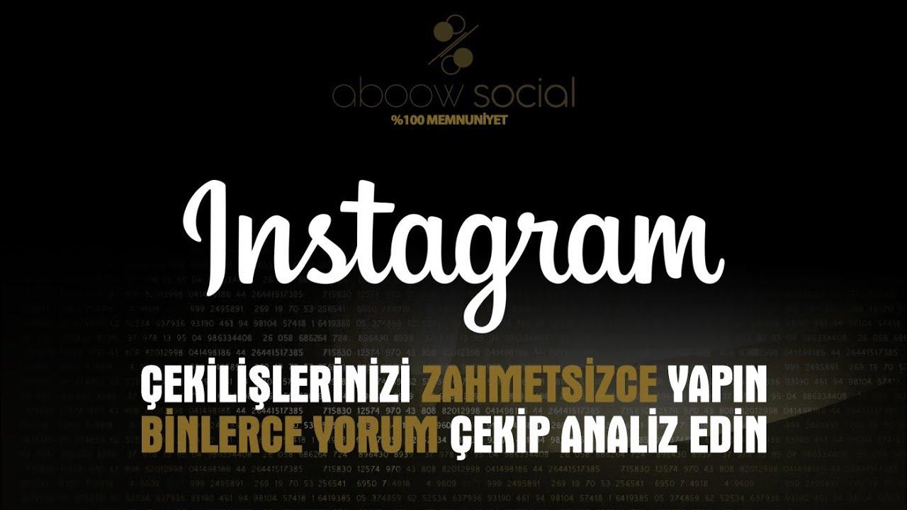 instagram çekiliş yap Instagram Cekilis Yapma Programi Youtube Follow Instagram