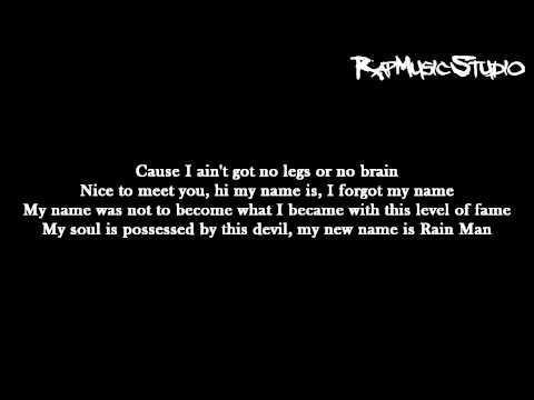 Eminem  Rain Man  Lyrics on screen  Full HD