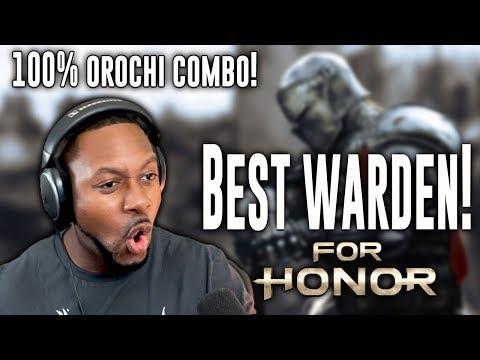 For Honor Orochi ∙ 100 Damage Orochi Combo! | Best Warden Appears!