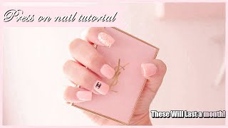 HOW TO MAKE YOUR $6 PRESS ON NAILS LAST A MONTH!