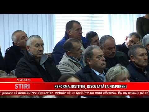 2017 11 30 S NISPORENI Reforma justitiei, discutata la Nisporeni