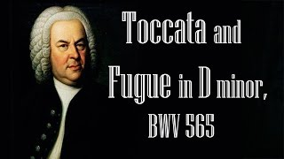 Bach - Toccata and Fugue in D minor, BWV 565 (Organ) (1 Hour)