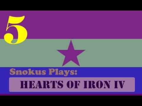 Snokus plays: Hearts of Iron 4 - The second Spanish republic [Part 5]