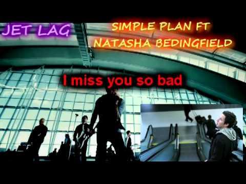Jet Lag-Simple Plan ft Natasha Bedingfield (Karaoke/Instrumental)